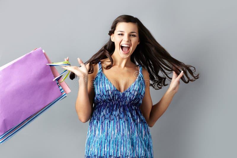 Download Het Aankondigen Van Grote Verkoop Stock Afbeelding - Afbeelding bestaande uit meisje, luxe: 29514747
