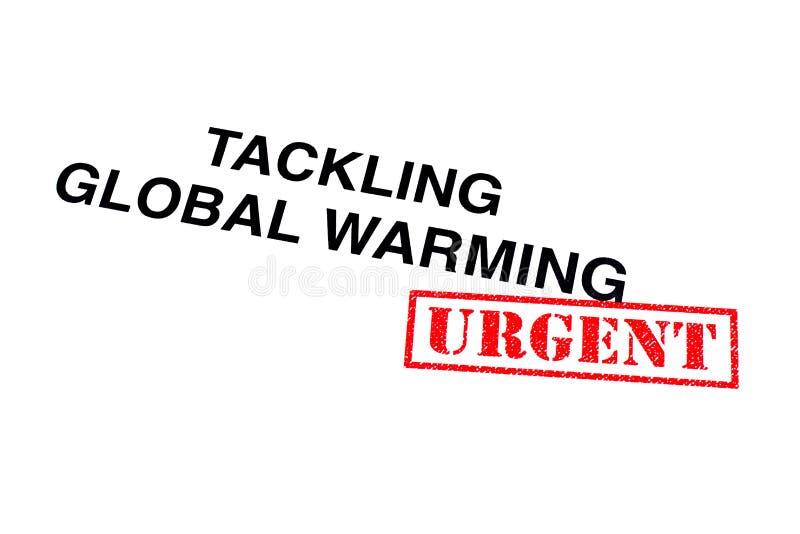 Het aanpakken van het Globale Verwarmen stock fotografie