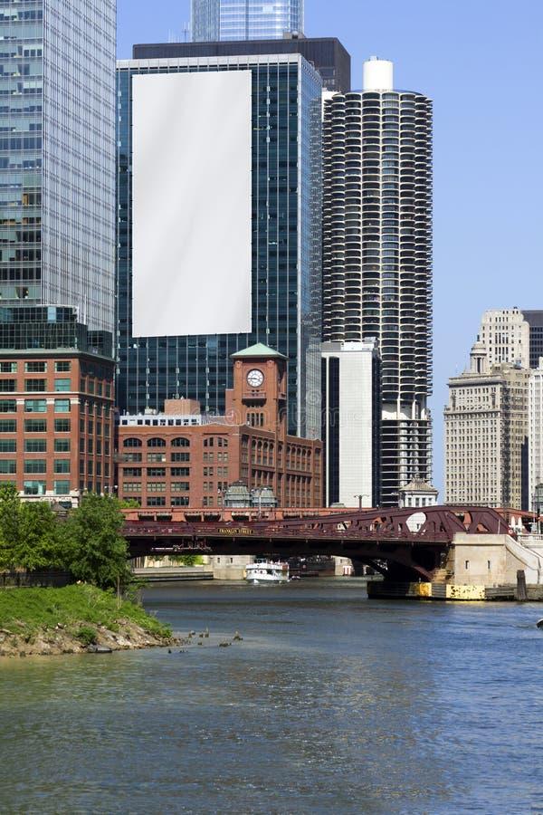 Het Aanplakbord van de stad stock afbeeldingen