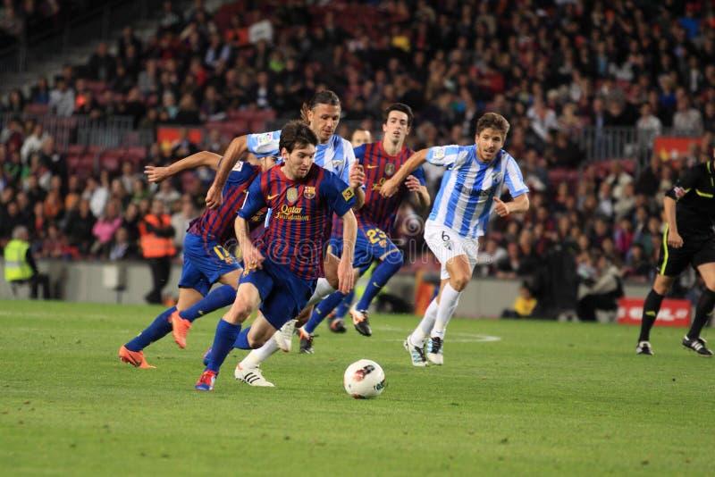 Het aanvallen Leeuw Messi stock foto's