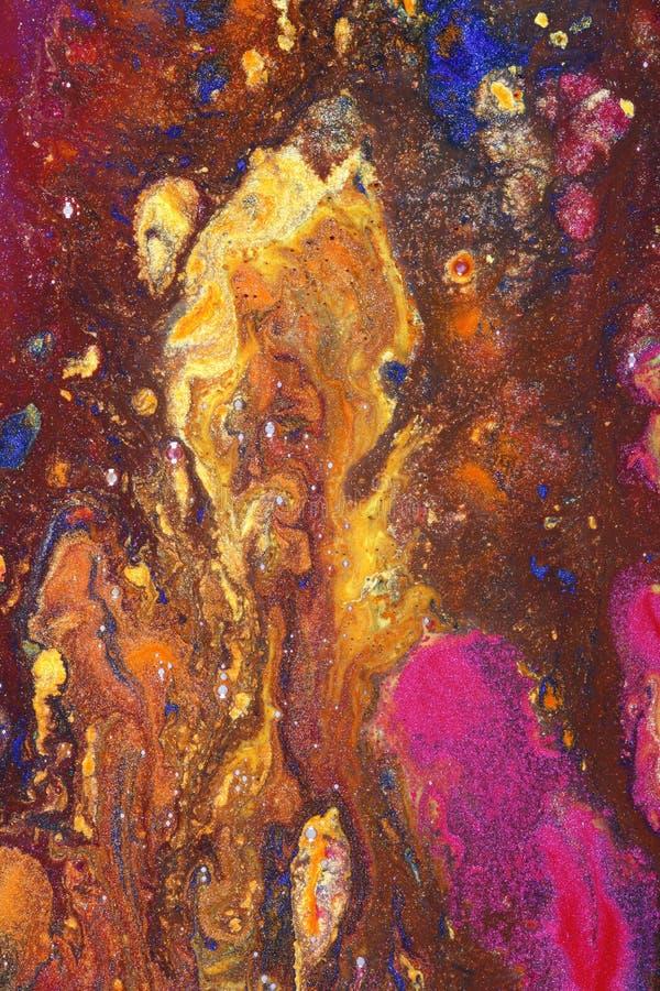 Het abstracte Art. van het Canvas stock foto