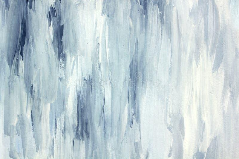 Het abstracte artistieke schilderen royalty-vrije illustratie