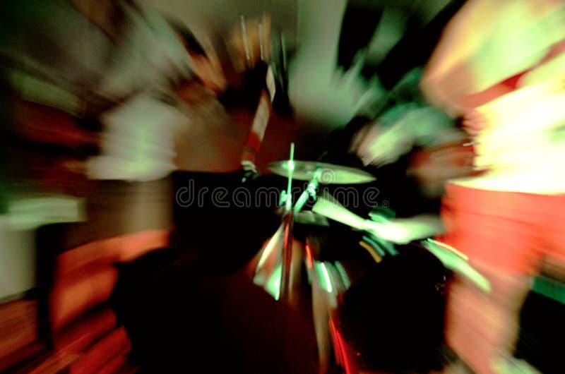 Het abstracte beeld van de machtsrots stock fotografie