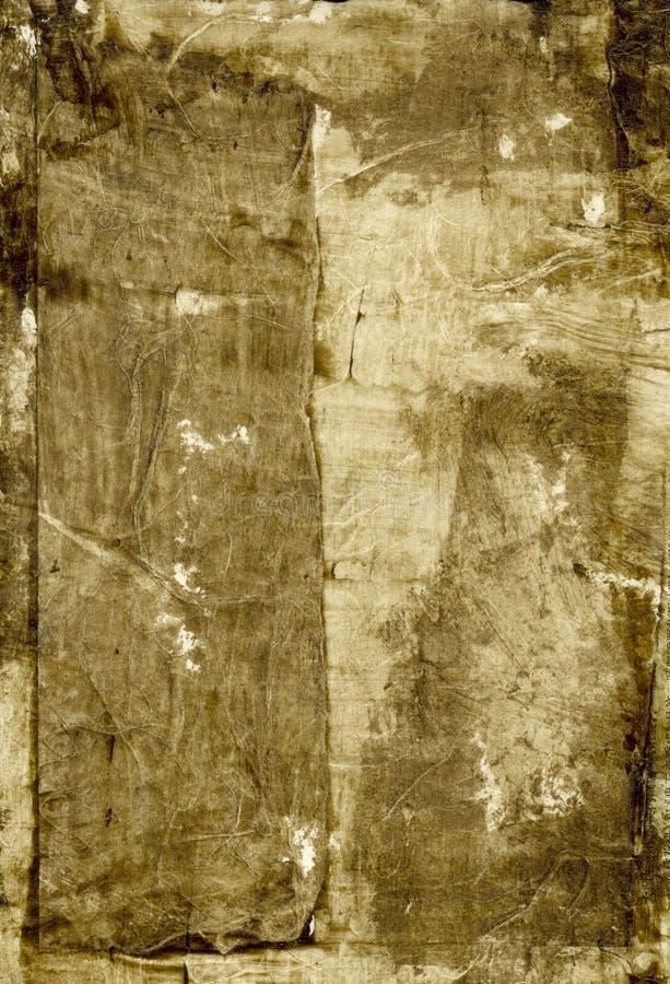 Het abstracte Bruine Schilderen stock illustratie