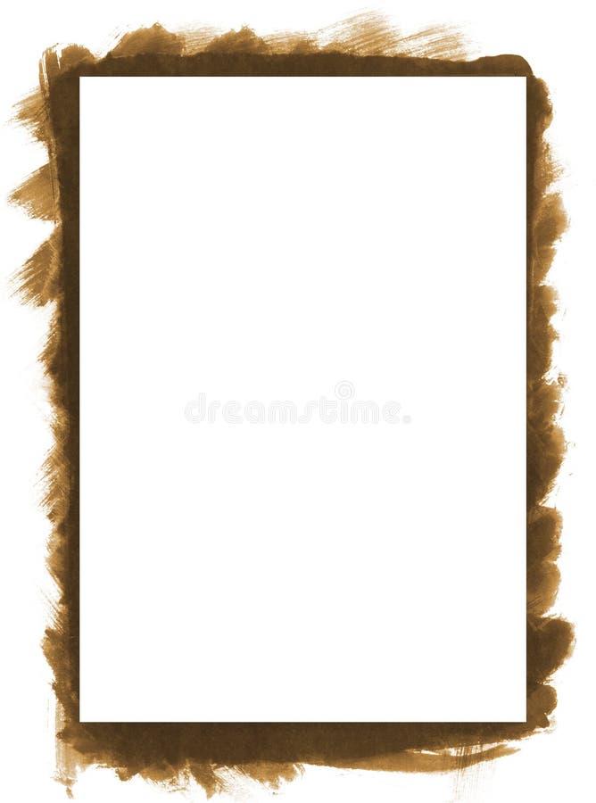 Het abstracte frame van Grunge royalty-vrije stock foto