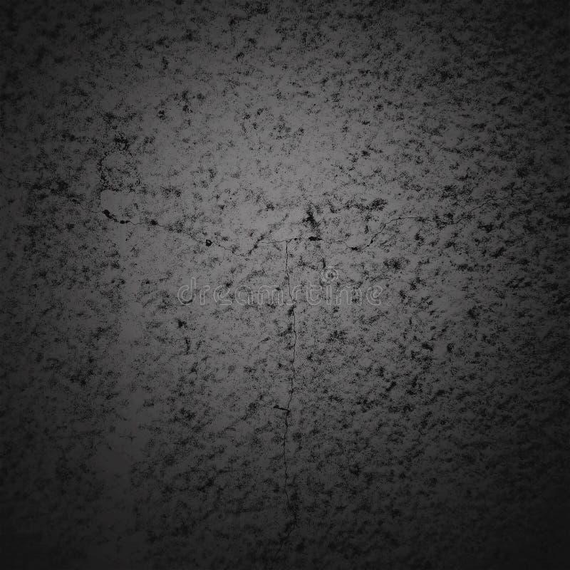 Het abstracte kader van de achtergrond donkere vignetgrens met grijze textuurachtergrond Uitstekende grungestijl als achtergrond royalty-vrije illustratie