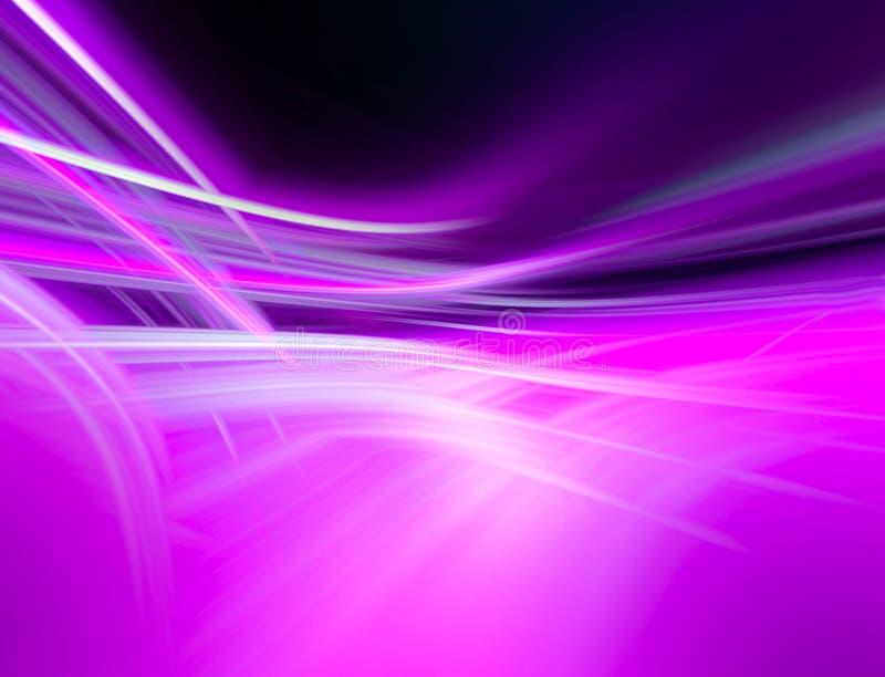 Het abstracte lilac ontwerp grafiek achtergrond van FO royalty-vrije illustratie