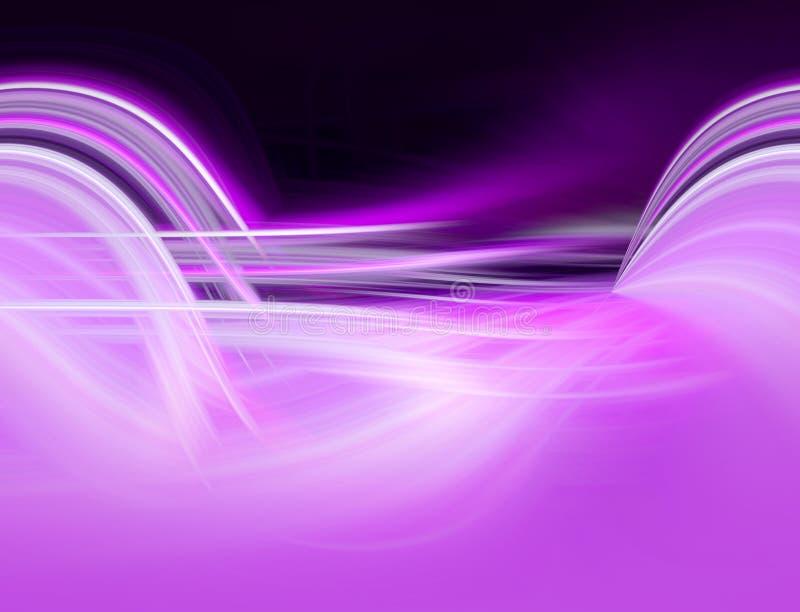 Het abstracte lilac ontwerp grafiek achtergrond van FO vector illustratie