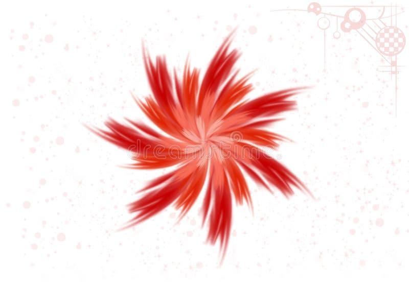 Het abstracte Ontwerp van de Computergrafiek royalty-vrije illustratie