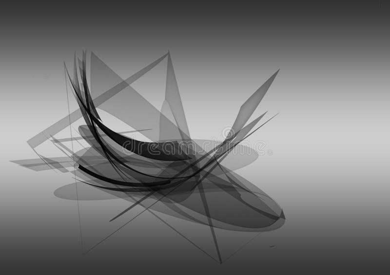 Het abstracte Ontwerp van de Computergrafiek vector illustratie