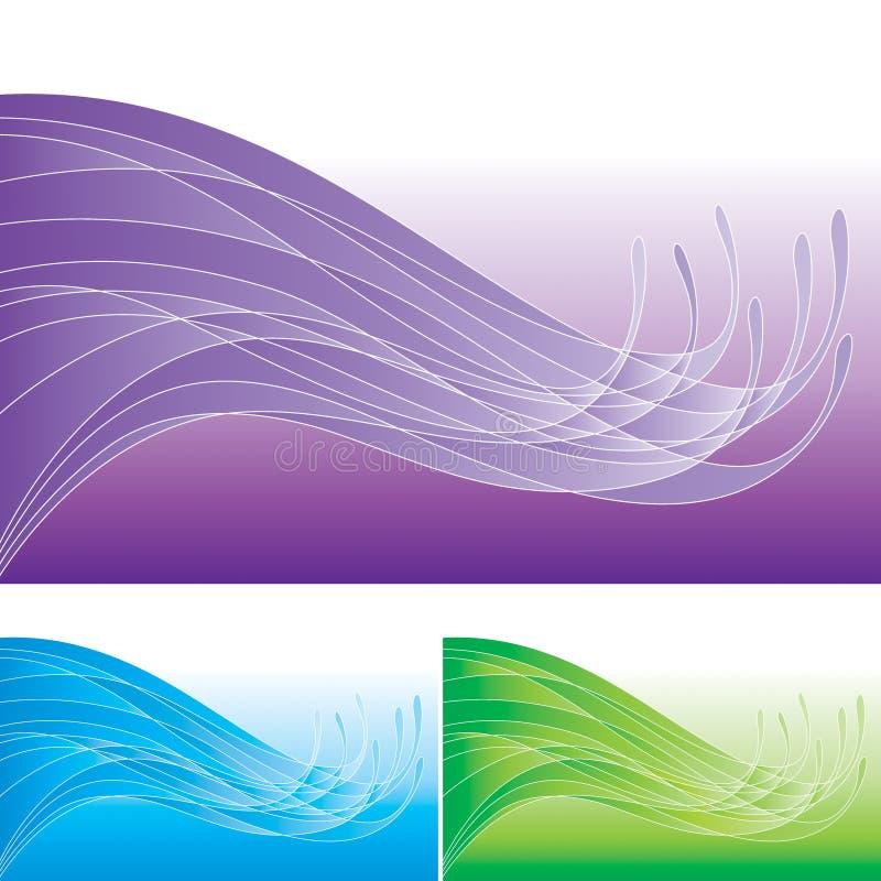 Het abstracte Patroon van de Branding stock illustratie