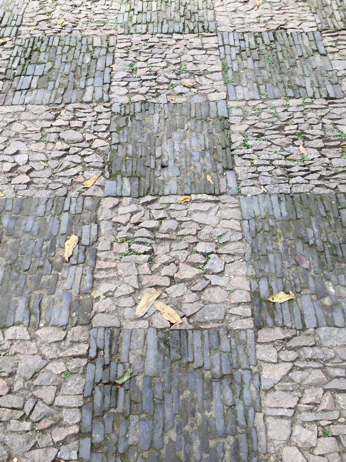 Het abstracte patroon van de tuinbetonmolen royalty-vrije stock fotografie