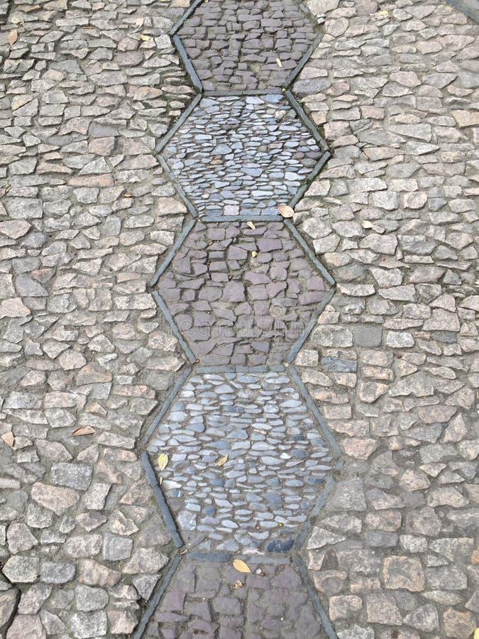 Het abstracte patroon van de tuinbetonmolen royalty-vrije stock afbeeldingen