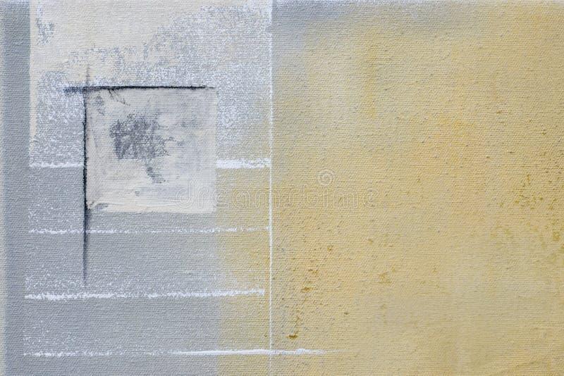 Het abstracte schilderen vector illustratie