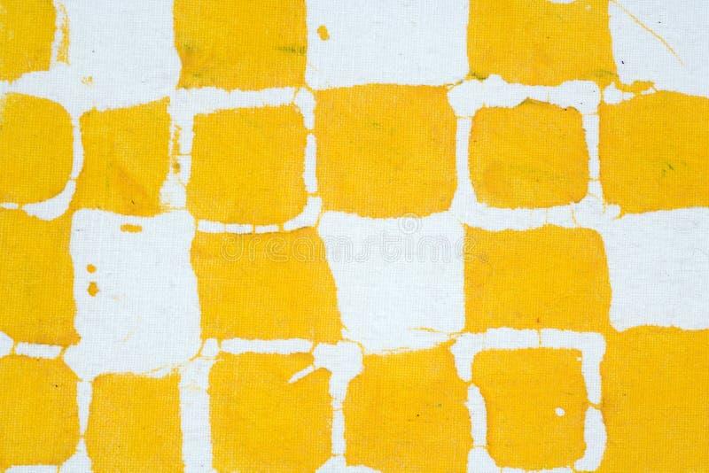 Het abstracte stof schilderen stock foto