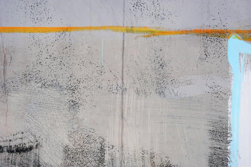 Het abstracte trekken op de muur, straatart. stock afbeeldingen