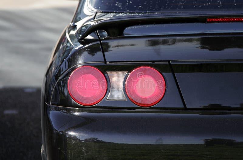 Het AchterLicht van de auto stock fotografie