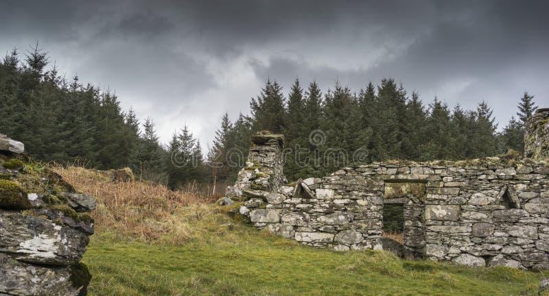 Het achtervolgen blijft van Arichonan-Gemeente in Schotland stock foto