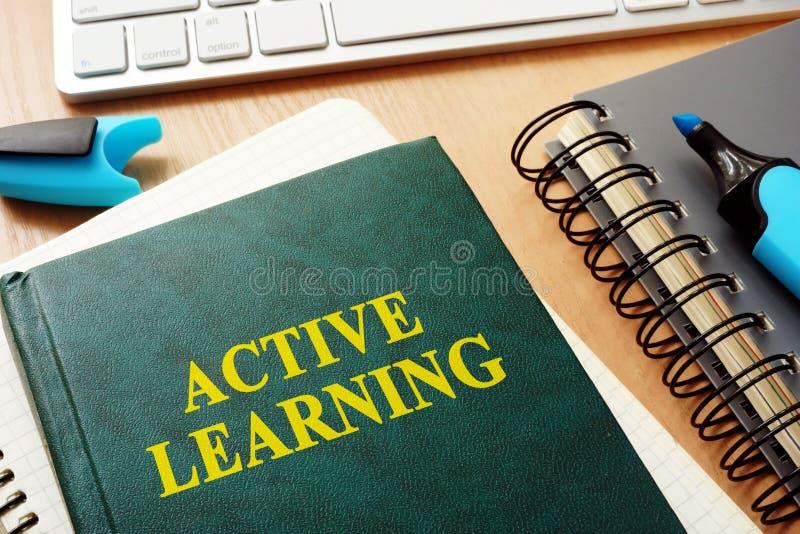 Het actieve leren stock afbeelding