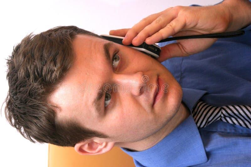 Het actieve luisteren stock fotografie
