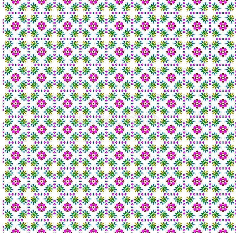 Het af:drukken van de bloem doek stock foto