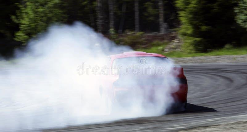 Het afdrijven van Nissan 200sx S14a royalty-vrije stock foto's