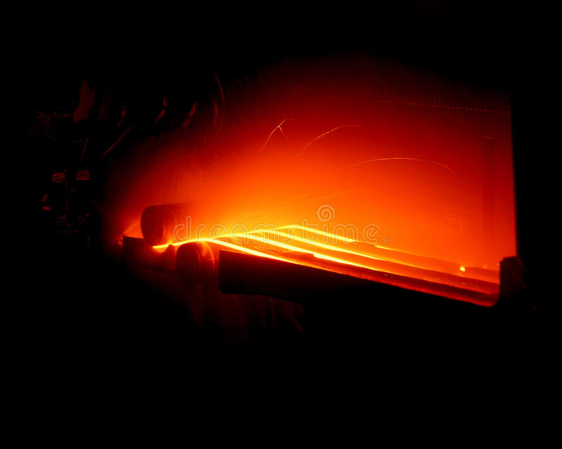 Het afgietsel van het metaal stock fotografie