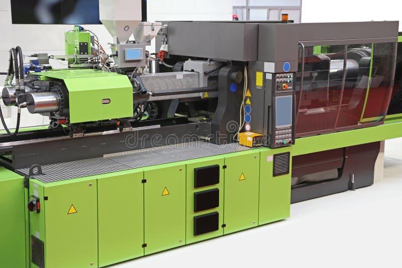 Het afgietselmachine van de injectie stock foto