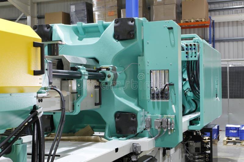 Het afgietselmachine van de injectie royalty-vrije stock afbeelding