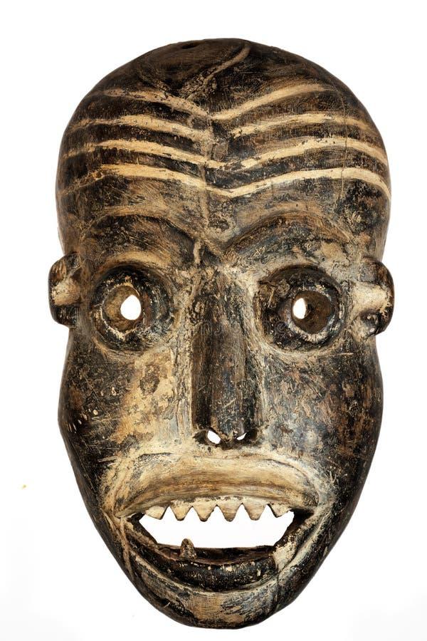 Het Afrikaanse masker van het Gezicht. royalty-vrije stock foto