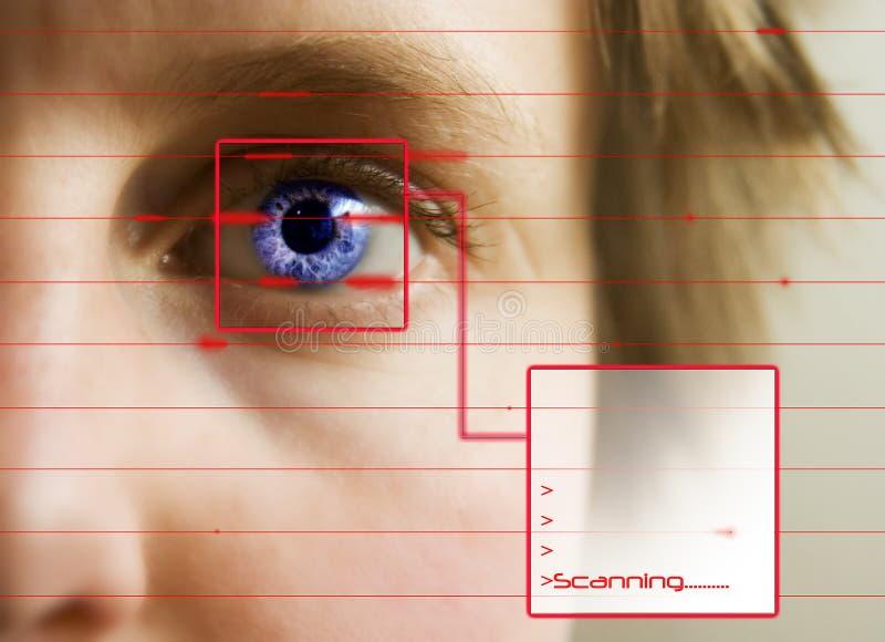 Het Aftasten van de retina royalty-vrije stock fotografie