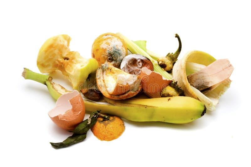 Het afval van het voedsel stock fotografie
