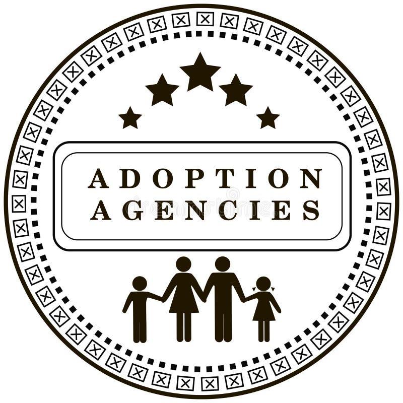 Het agentschap van de zegelgoedkeuring stock illustratie