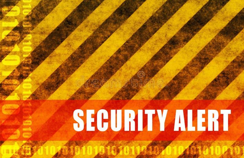 Het Alarm van de veiligheid vector illustratie
