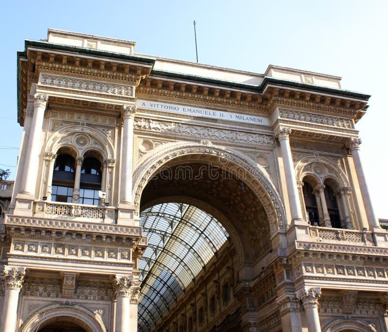 Het album in Milaan stock foto
