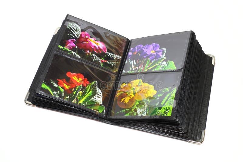 Het album van de foto stock fotografie