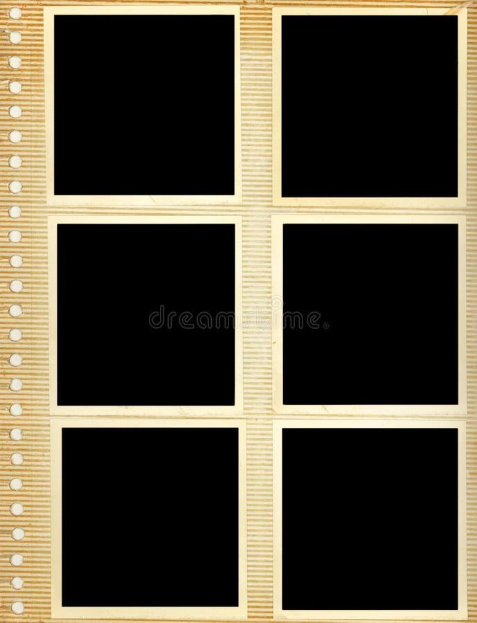 Het Album van de foto royalty-vrije stock foto