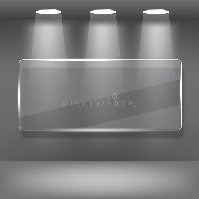 Het Album van de showcase vector illustratie