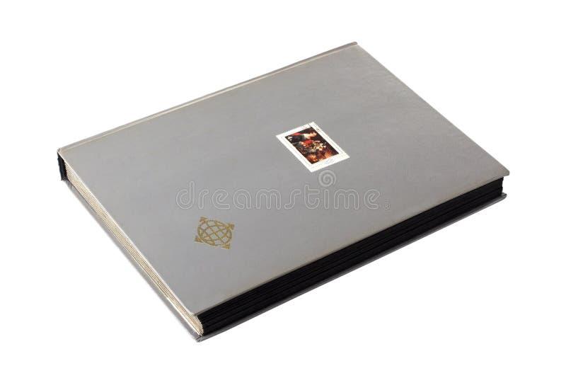Het Album van de zegel royalty-vrije stock fotografie