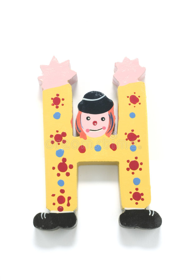 Het Alfabet van het stuk speelgoed royalty-vrije stock afbeeldingen