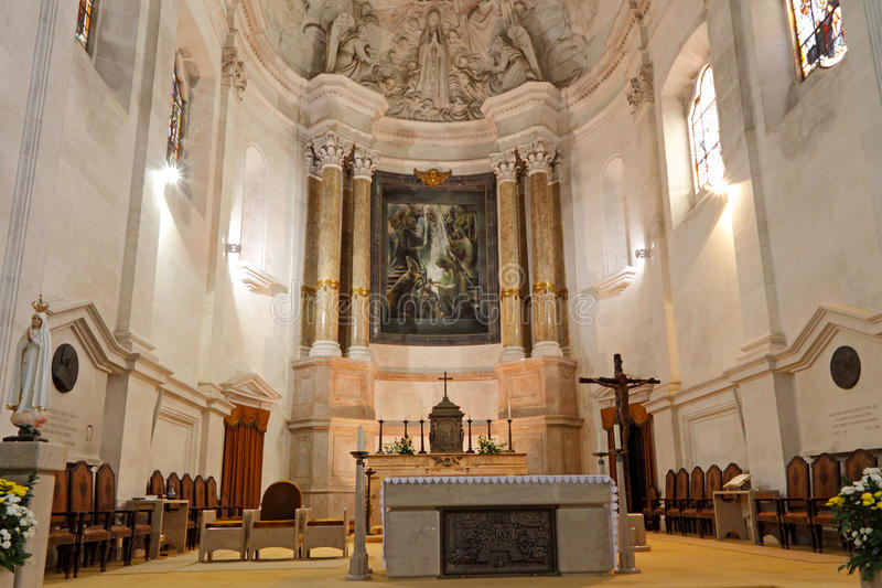 Het altaar van Fatima stock foto