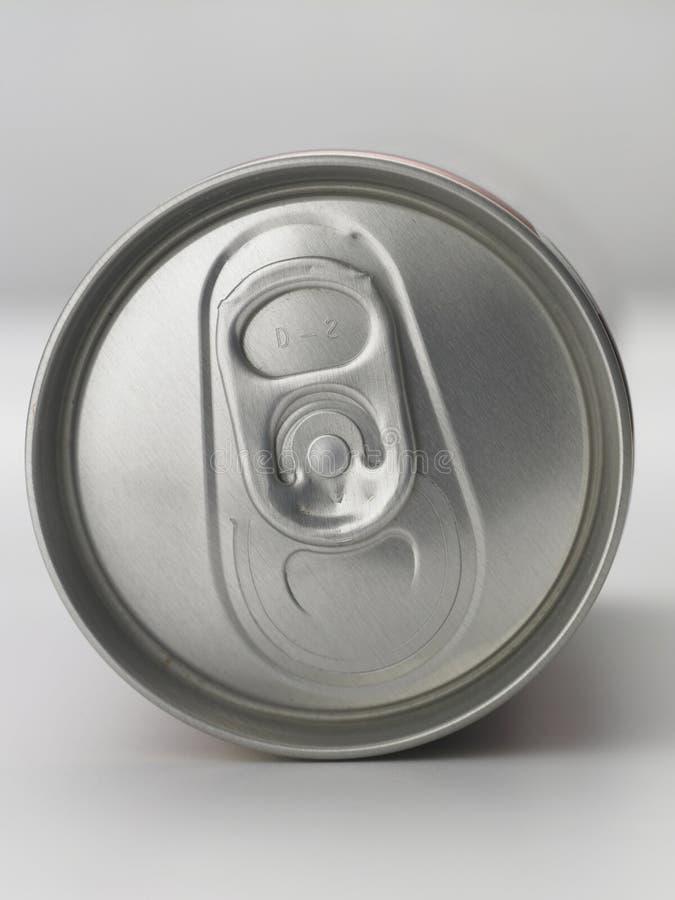 Het aluminium kan stock afbeeldingen