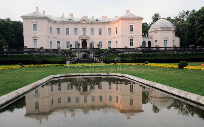 Het amberMuseum Palanga royalty-vrije stock afbeelding