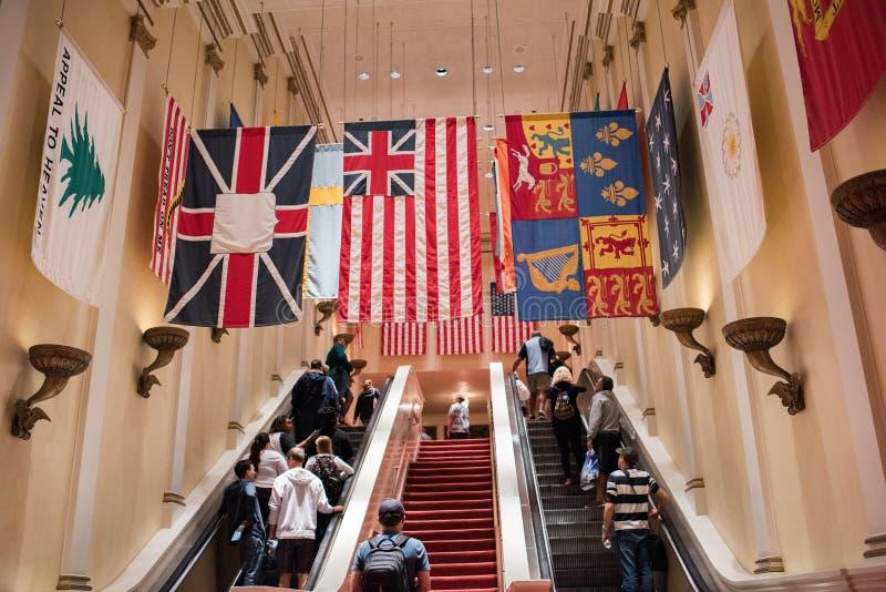 Het Amerikaanse Avontuur in Epcot royalty-vrije stock afbeeldingen