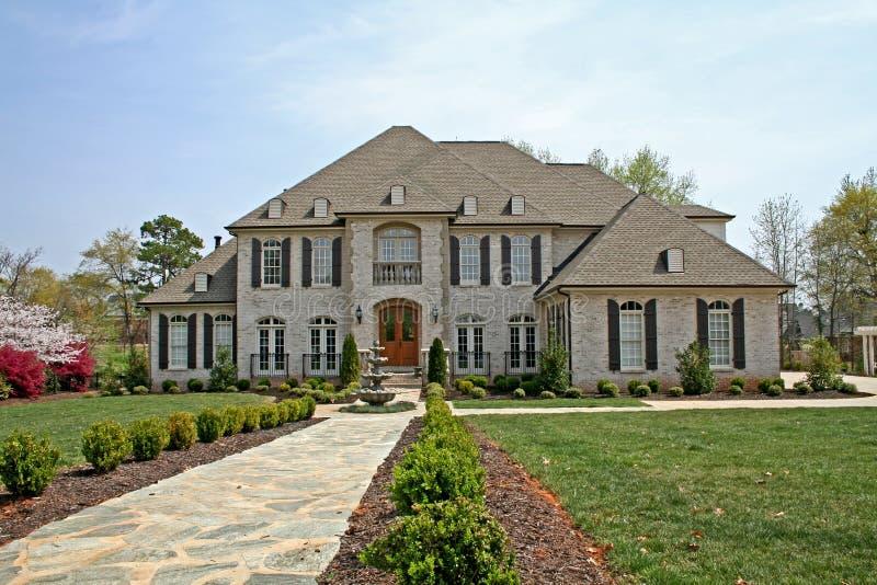 Het Amerikaanse huis van de luxe