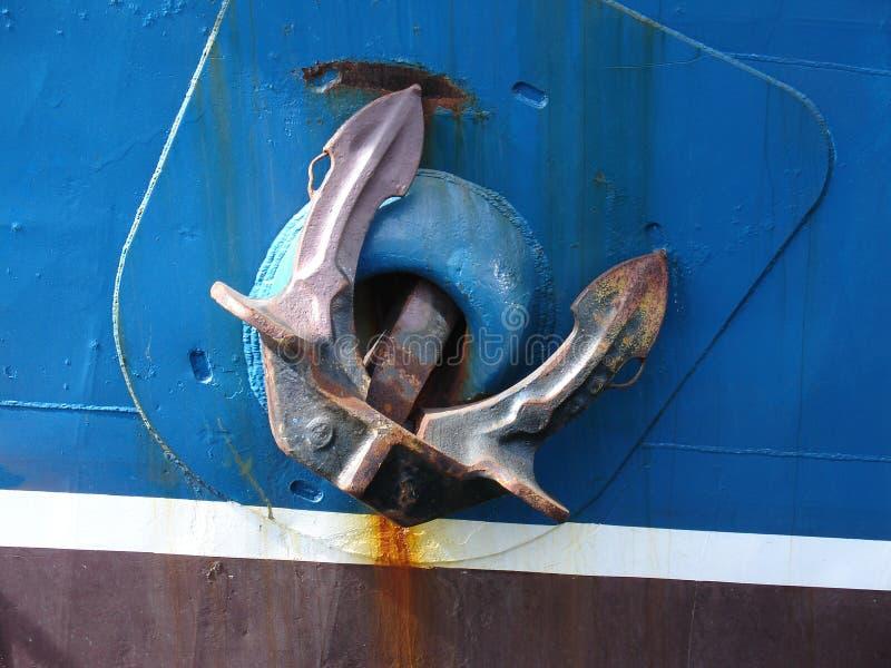 Het anker van schepen royalty-vrije stock foto