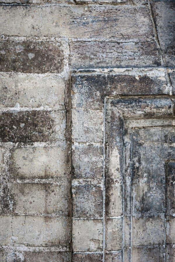 Het antieke detail van de steenmuur royalty-vrije stock afbeelding