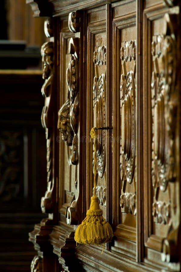 Het antieke Detail van het Meubilair royalty-vrije stock afbeelding