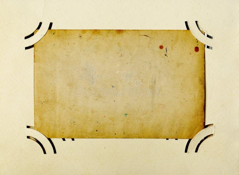 Het antieke frame van de Foto stock afbeeldingen