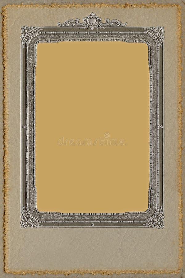 Het antieke Frame van de Foto van de Studio royalty-vrije stock afbeelding